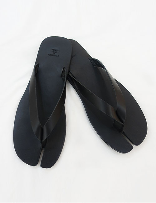espacio leather flip flop