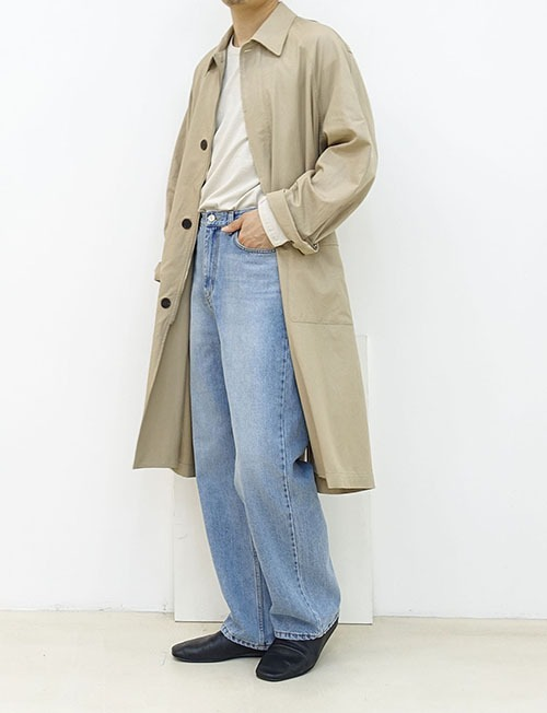 autumn trench coat